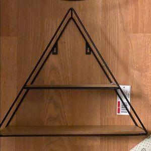 NWT Target triangle shelf